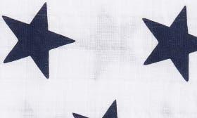 White- Navy Stars swatch image