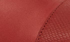 Red Mud/ Red Mud Leather swatch image