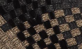 Bronze/ Black Metallic Fabric swatch image