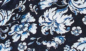 Navy / White Floral Print swatch image