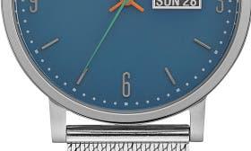 Dark Blue/ Stainless Mesh swatch image