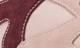 Peony Pink Suede swatch image