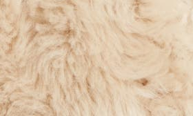 Cream Shearling swatch image