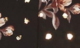 Black Floral Foil swatch image
