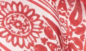 Red Floral Framework swatch image