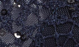 Navy Lace Fabric swatch image