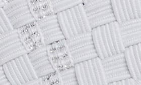 White Lurex swatch image