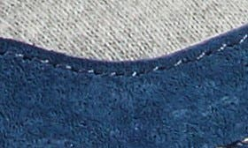 Navy/ Grey Leather swatch image