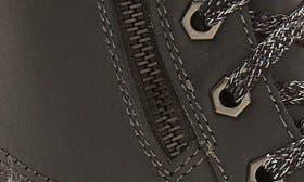 Dark Grey/ Black Leather swatch image