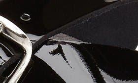 Black Patent swatch image