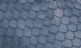Denim Blue Printed Leather swatch image