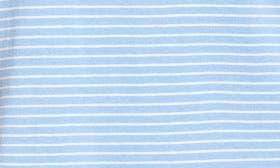 Blue- White Aubrey Stripe swatch image