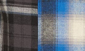 Black Rock Blue Blocked Plaid swatch image