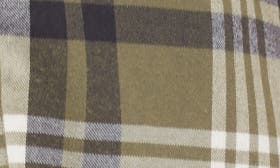 Olive Grove Pepper Plaid swatch image
