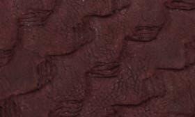 Wine/ Cordovan Leather swatch image