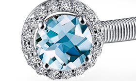 Silver/ March Aquamarine swatch image