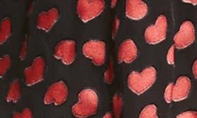 Mini Hearts-Black swatch image