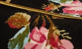 Black/ Floral Print swatch image