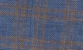 Gold Blue Plaid swatch image