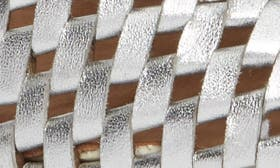 Silver Woven swatch image