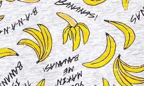 Grey Medium Heather Bananas swatch image