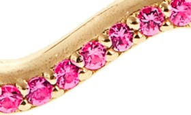 Gold/ Pink Sapphire swatch image