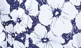 Etched Flowers Peacoat swatch image
