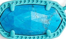 Aqua Howlite/ Matte Aqua swatch image