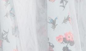 Teal Fair Spring Blooms swatch image