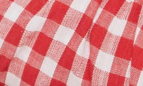 Red/ White Fabric swatch image