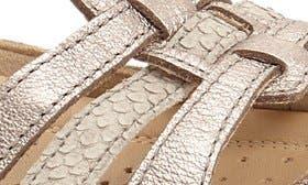 Warm Grey/ Metallic Leather swatch image
