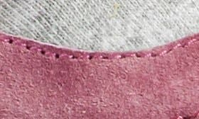 Berry/ Pewter Leather swatch image