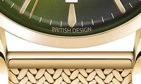Gold/ Green swatch image