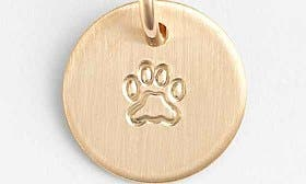 14K Gold Fill Paw swatch image