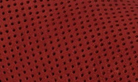 Red Nubuck Leather swatch image