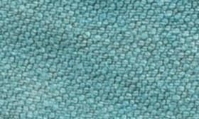 Turquoise/ Cream Leather swatch image
