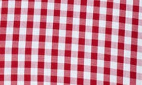 Dark Red Gingham swatch image