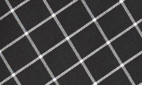 Black/ White Plaid swatch image