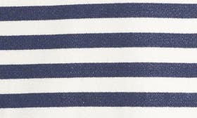 Navy/ White Strip With Navy swatch image