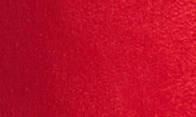 Red Stretch Faux Suede swatch image selected