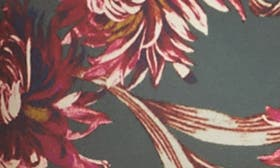 Olive Sarma Nouveau Floral swatch image