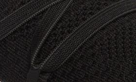 Black/ Black Knit Fabric swatch image