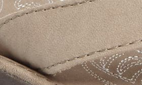 Taupe/ Taupe Leather swatch image
