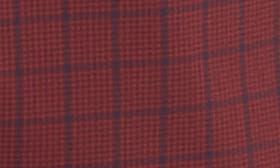 Burgundy Stem Grid Plaid swatch image