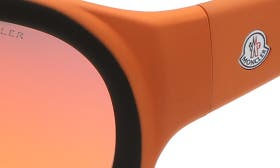 Black/ Matte Orange swatch image