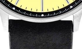 Cream/ Black Suede swatch image