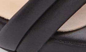 Black Capretto Leather swatch image