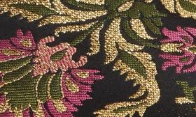 Black/Gold/Fuschia Brocade swatch image