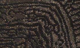 Black Brocade Fabric swatch image