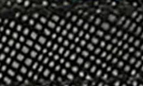 Black Printed Leather swatch image